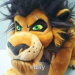 Disney Store Roi Lion Scar En Peluche Et Shinba Mini-serviette Poupée Animaux