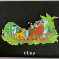 Disney Store Royaume-uni Le Roi Lion Jumbo Le 400 Pin #139431 Dlp Treasure Boxed