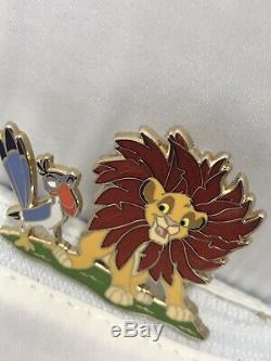Disney Store Shopping 110e Héritage Roi Lion Simba Zazu Le 250 Pin