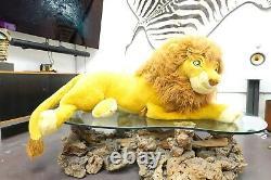 Disney The Lion King Adulte Simba Mufasa Peluche Vtg Jumbo Rare 44 Douglas Co. Inc