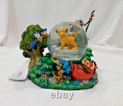 Disney The Lion King Musical Snowglobe Iob I Just Can't Wait To Be King Simba