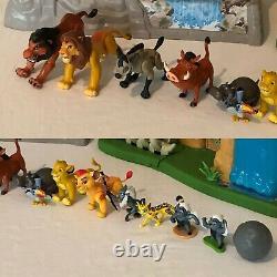 Disney The Lion Roi Lion Garde La Voie D'entraînement Et Défendre La Fierté Playset