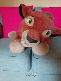 Disney Vtg Retro Lion King Kovu Ultra Rare Simba Peluche Jouet X Grand Con Incroyable