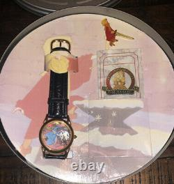 Disney Watch Collector's Club Lot Of #6 Peter Pan Mickey Lion King 1994 Série 3