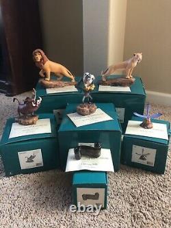 Disney Wdcc Ensemble De 6 Figurines Du Roi Lion