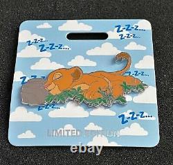 Disney Wdi D23 Expo 2019 Le Roi Lion Nala Cat Nap Le 300 Cast Pin