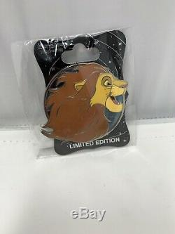 Disney Wdi Le 250 Héros Pin Profil Le Roi Lion Simba Adulte
