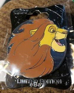 Disney Wdi Le 250 Le Roi Lion Pin Adulte Profil Simba Heroes