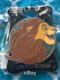 Disney Wdi Pin Heroes Simba Le Roi Lion Profil