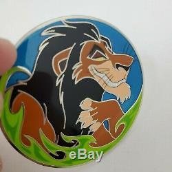 Disney Wdi Pin Scar Villain Profil Le Roi Lion 250 Htf