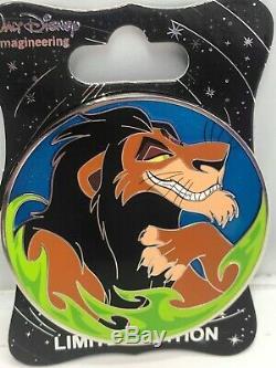 Disney Wdi Scar Villain Profile Le 250 Épingles Le Roi Lion Simba