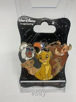 Disney Wdi The Lion King Character Cluster Le 250 Pin Simba Nala Timon Pumbaa