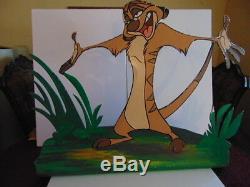 Disney World Stage Show Prop Pour Le Roi Lion Timon