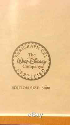 Disney's Le Roi Lion, Édition Limitée Simba & Nala Sericel Avec Certificat