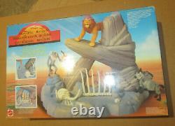 Disney's The Lion King Pride Rock Playset Mattel 66383 Nouveauté En Boîte Vintage 1994