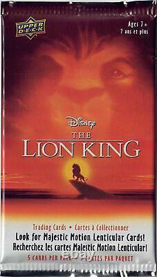 Disney's The Lion King Trading Cards 660-pack Case (upper Deck 2020)