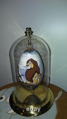 Disneyana L'un D'un Oeuf D'oie Lion Roi Jutta Levasseur