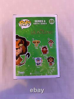 Disneys Lion King Funk Pop! Vinyle Cicatrice Figure # 89