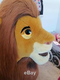 Douglas 5ft Taille Vie Simba Le Roi Lion Disney Peluche