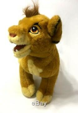 Douglas Cuddle Simba Toys Grand 30 Disney Le Roi Lion En Peluche Rare 1994