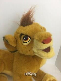 Douglas Cuddle Toys Grand 30 Simba Disney Peluche Vintage Lion King Rare 1994 Htf