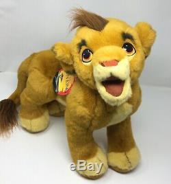 Douglas Cuddle Toys Simba Grand 30 Vintage Roi Lion Peluche Rare Avec Tag