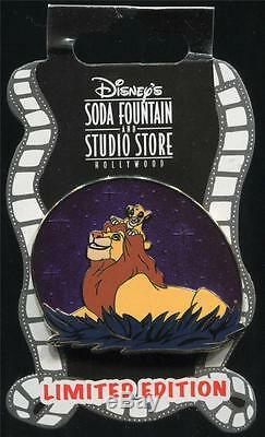 Dsf Mufasa Et Simba Le Roi Lion Le 300 Disney Pin 86111
