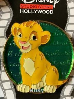 Dssh Lion King Simba Cursive Cutie Pin Surprise Release Edition Limitée 150 Rare
