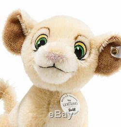 Enregistrer! Steiff Disney 2019 Simba & Nala Le Lion King Set 355370/355363 Nouveau