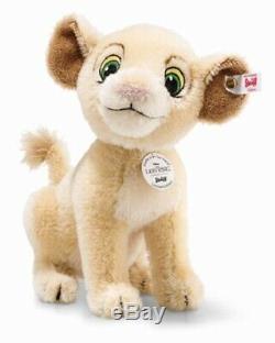 Enregistrer! Steiff Nala Disney Le Roi Lion 9 Mohair 2019 Ltded 355370 Nouveau