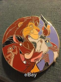 Épinglette Ronde Le Roi Lion Auctions Disney Le 100