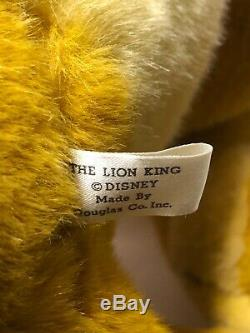 Euc Douglas Lion King Simba En Peluche Disney Énorme Jumbo Mufasa 1994 Nestle