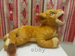 Extremely Rare 1994 The Lion King Young Simba Douglas Peluche Lifesize Promo Look