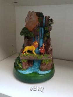 Extrêmement Rare! Walt Disney Le Roi Lion, Scène De Combat Simba Le Of 500 Statue