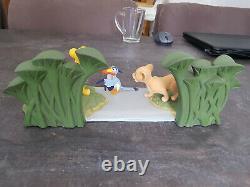Extrêmement Rare! Walt Disney Le Roi Lion Simba Dans La Statue Figurine Jungle