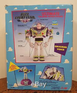 Figurine D'action Rare Buzz Lightyear Story Story 1995 Disney Boxed Jamais Été Ouverte