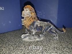 Figurine Swarovski Disney Lion Roi Mufasa 2010 1048265 Collectionnable. Brandnew