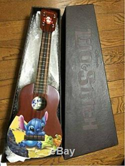 Figurine Ukulélé Lilo & Stitch Disney Japon Tokyo Ltd Millésime 2005 Extrêmement Rare