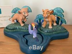 Figurine Wdcc De La Collection Walt Disney Classic Collection Simba Nala Zazu Le Roi Lion Nle