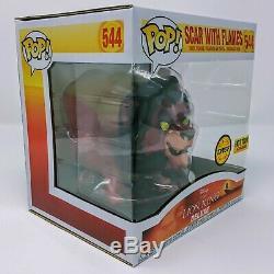 Funko Disney Treasures Le Roi Lion Scar Avec Flames (chase) Funko Pop! Vinyle