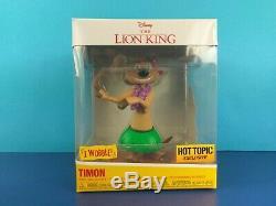 Funko Disney Treasures Roi Lion Scar Avec Red Flames Chase Pop Hot Topic