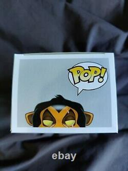 Funko Pop #89 Scar Disney's The Lion King (version Originale Animée) Rare