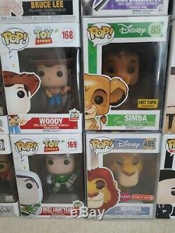 Funko Pop Bundle X 40, Le Wwf, La Wwe, Pokemon, Le Roi Lion, Tekken, Disney, Parrain