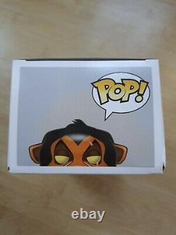 Funko Pop! Cicatrice #89 Disney Lion King Voûté Rar Selten