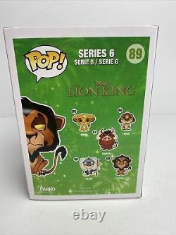 Funko Pop! Disney Le Roi Lion #89 Scar Vaulted Vinyl Figurine Avec Protecteur