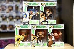 Funko Pop Disney Le Roi Lion Ensemble Complet De Voutée Retraite Htf