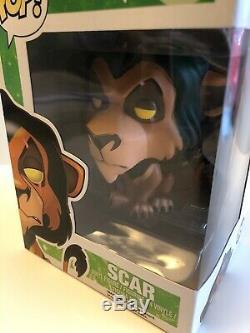 Funko Pop Disney Le Roi Lion Scar 89 Excellent État Voutée Rare