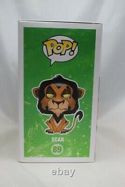 Funko Pop! Disney Le Roi Lion Scar Vinyle Figure #89 Nouveaut En Box