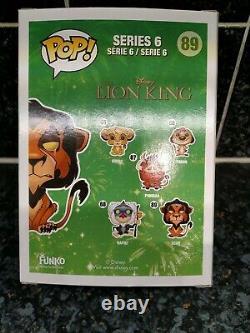Funko Pop! Disney The Lion King Scar #89 Précédemment Possédé, Mais Jamais Hors De La Boîte