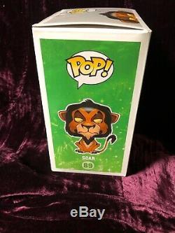 Funko Pop Disney Voûté Le Roi Lion # 89 Série Scar 6 Voir Les Photos Pour Des Détails
